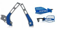 New Acerbis Frame Cover X-Grip YZ 125 250 06-18 X Ultimate HandGuards BLUE SIL